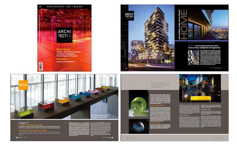 Magazine architectes.ch