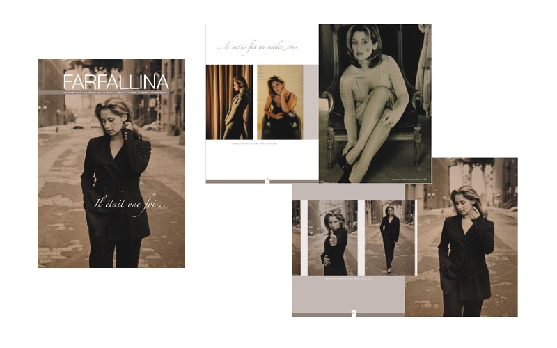"Magazine ""Farfallina"" Lara Fabian"