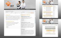 Webdesign du site iict academy