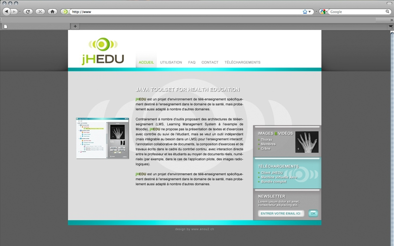 webdesign site jHEDU