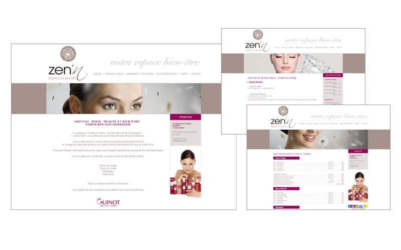 webdesign site zen'n